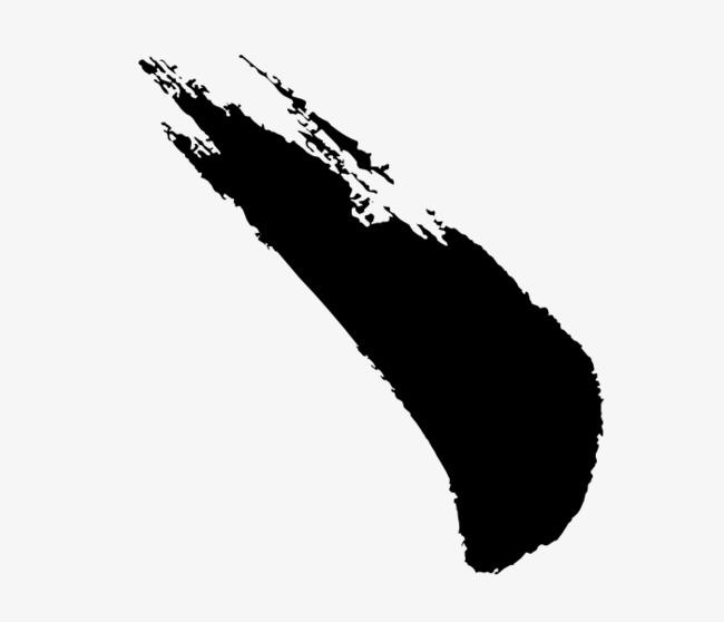 毛笔笔触【高清艺术字体png素材】-90设计