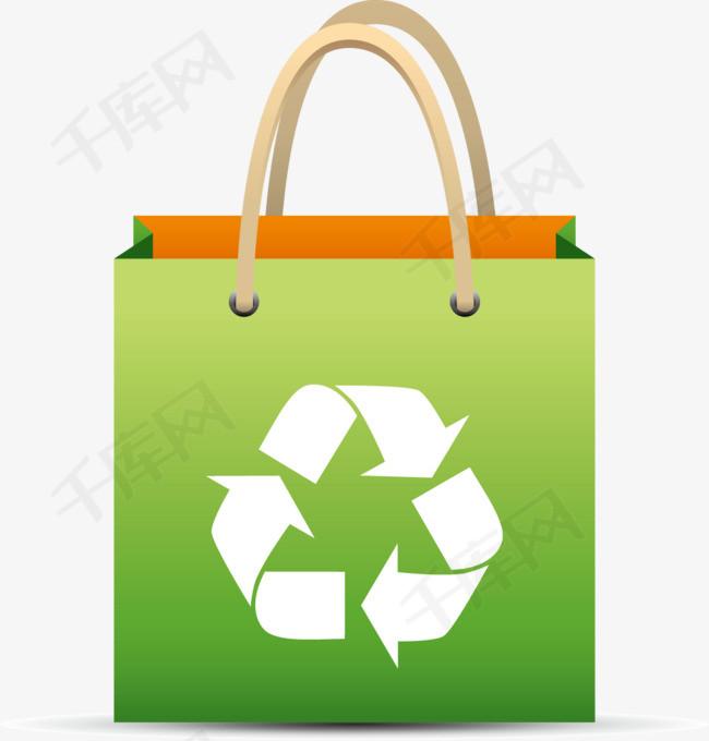 矢量创意设计环保手提纸袋可利用图素材图片免费下载 高清装饰图案图片
