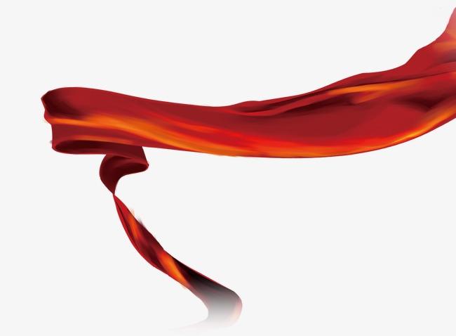 古风中国红绸带素材图片免费下载_高清漂浮素材png_千