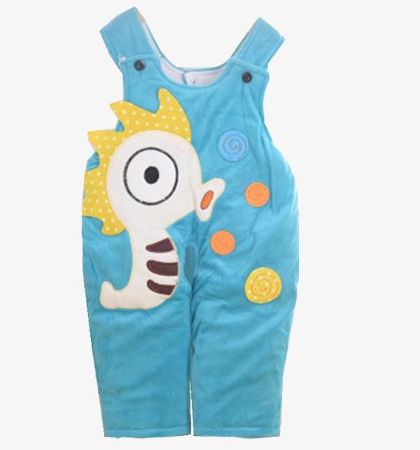 小宝宝卡通背带裤
