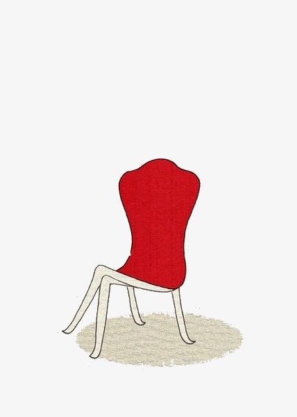 红色创意椅子