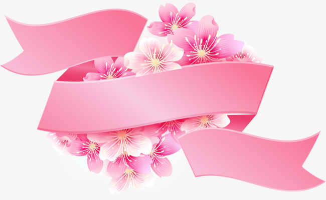 矢量手绘粉色樱花标签素材图片免费下载 高清装饰图案psd 千库网 图片编号5066960