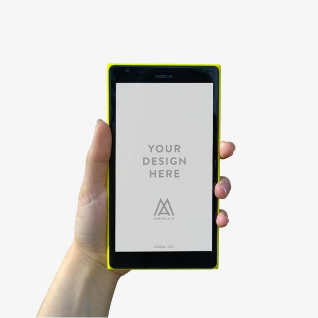 1134*1134 90设计提供高清png效果元素素材免费下载,本次手持手机作品图片