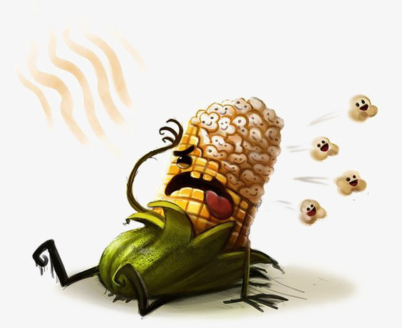 图片 卡通背景 > 【png】 卡通玉米  分类:手绘动漫 类目:其他 格式