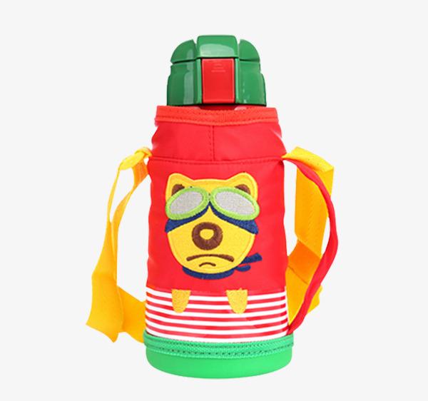 韩国杯具熊儿童保温水png素材-90设计