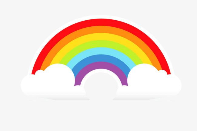 手绘卡通彩虹图片背景素材免费下载,图片编号5095598图片
