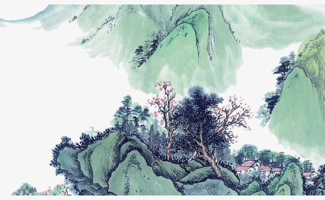 图片 国画山水画 > 【png】 山水画  分类:手绘动漫 类目:其他 格式