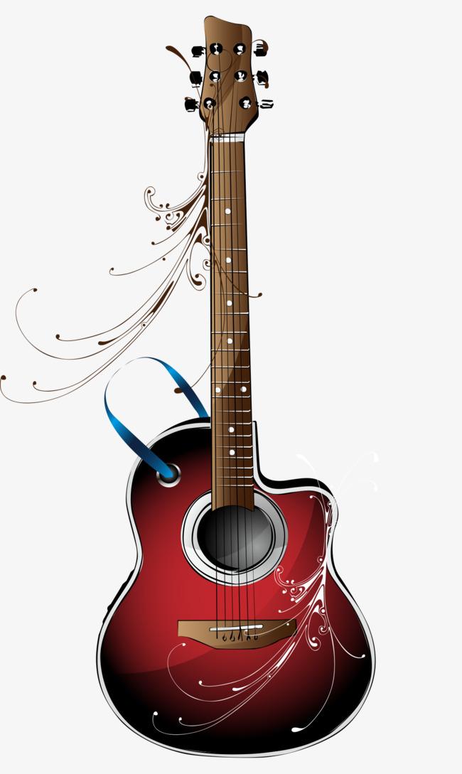 音乐乐器红色的电吉他素材图片免费下载_高清图片png