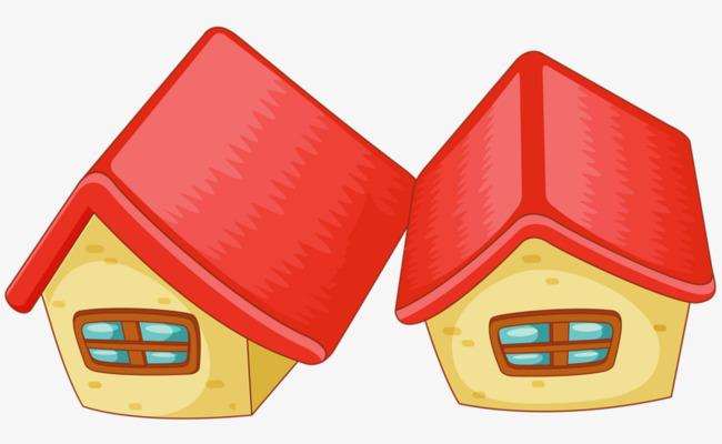 红色小房子素材图片免费下载_高清图片png_千库网
