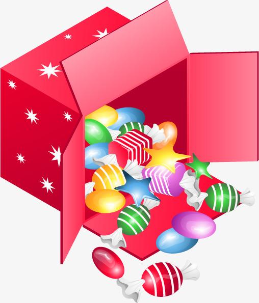 手绘糖果盒
