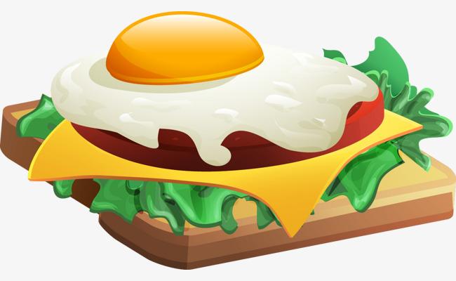 图片 > 【png】 三明治鸡蛋  分类:手绘动漫 类目:其他 格式:png 体积