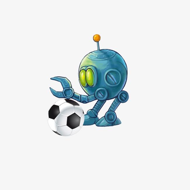 机器人 足球图片