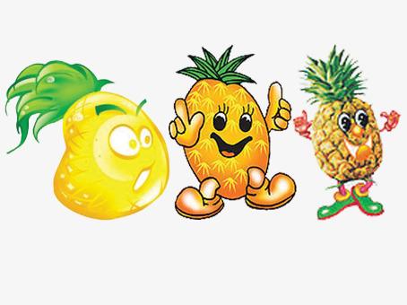 菠萝表情图片