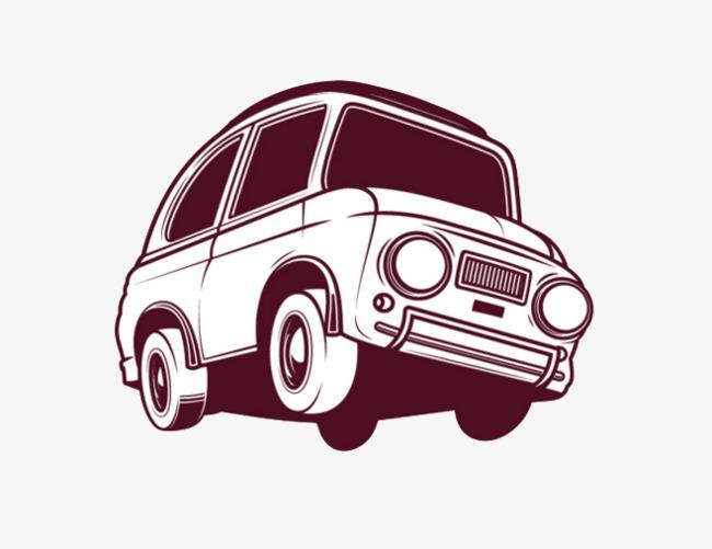 单色汽车图标【高清图标元素png素材】-90设计