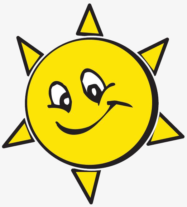 太阳卡通表情图片