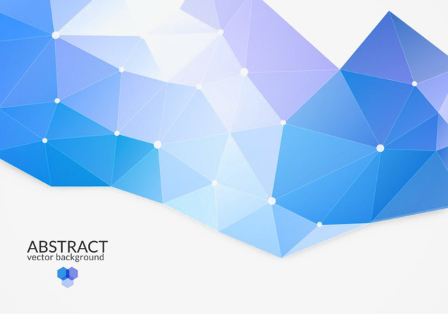象背景蓝色几何三角形设计素材图片免费下载 高清不规则图形psd 千