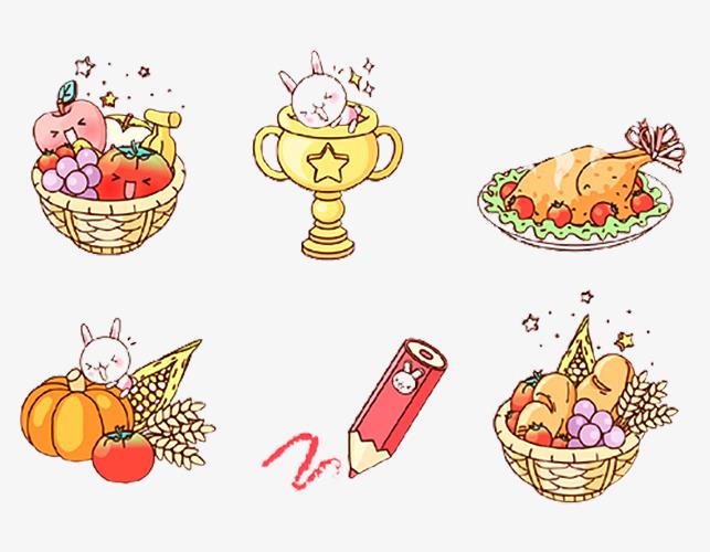 图片 > 【png】 可爱卡通插画  分类:手绘动漫 类目:其他 格式:png 体