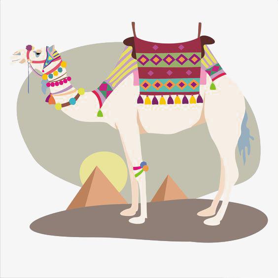 卡通骆驼图片