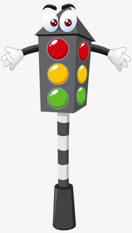 红色 黄色 红绿灯 卡通 眼睛             此素材是90设计网官方设计图片