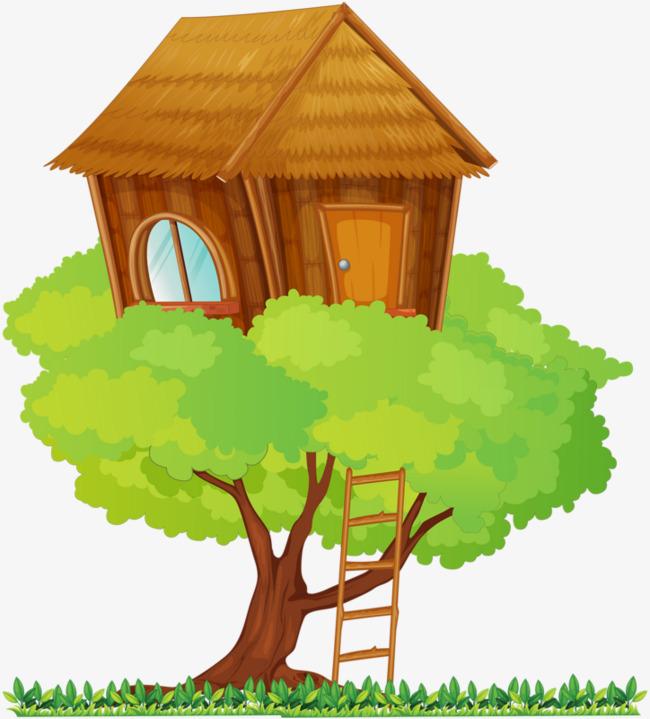 图片 > 【png】 树上的房子  分类:手绘动漫 类目:其他 格式:png 体积图片