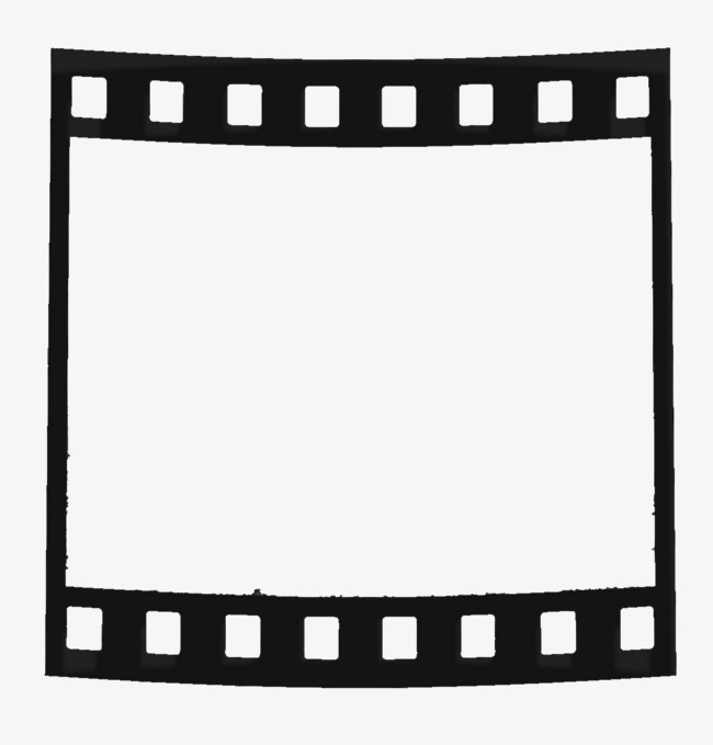 黑色图框png素材-90设计图片