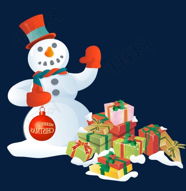 雪人和礼物