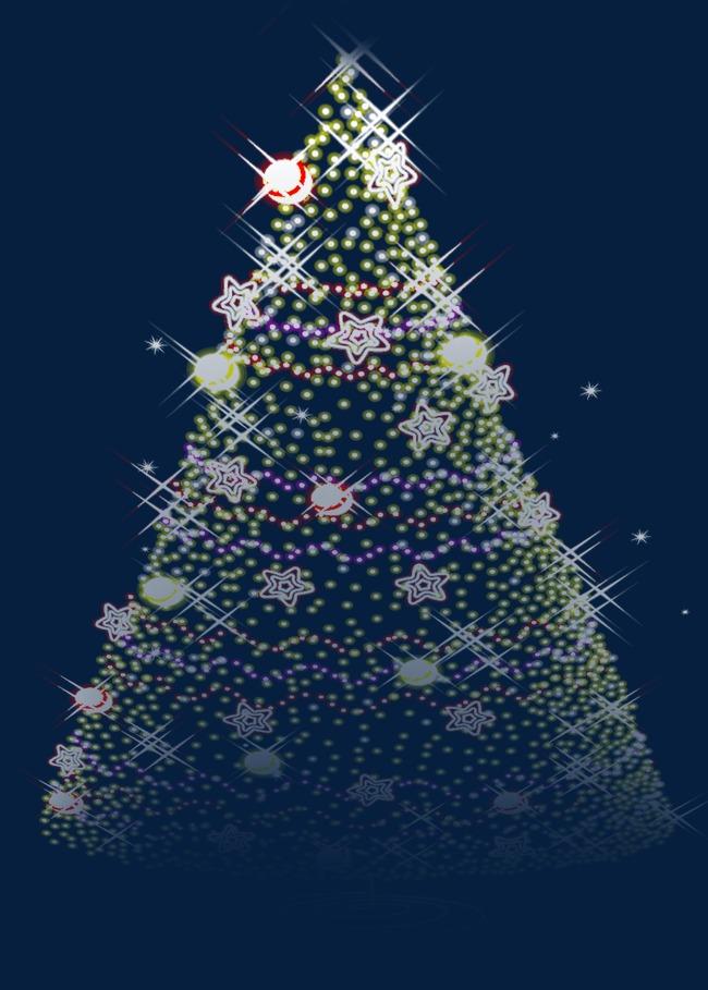 五彩圣诞树