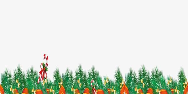 新年绿草装饰