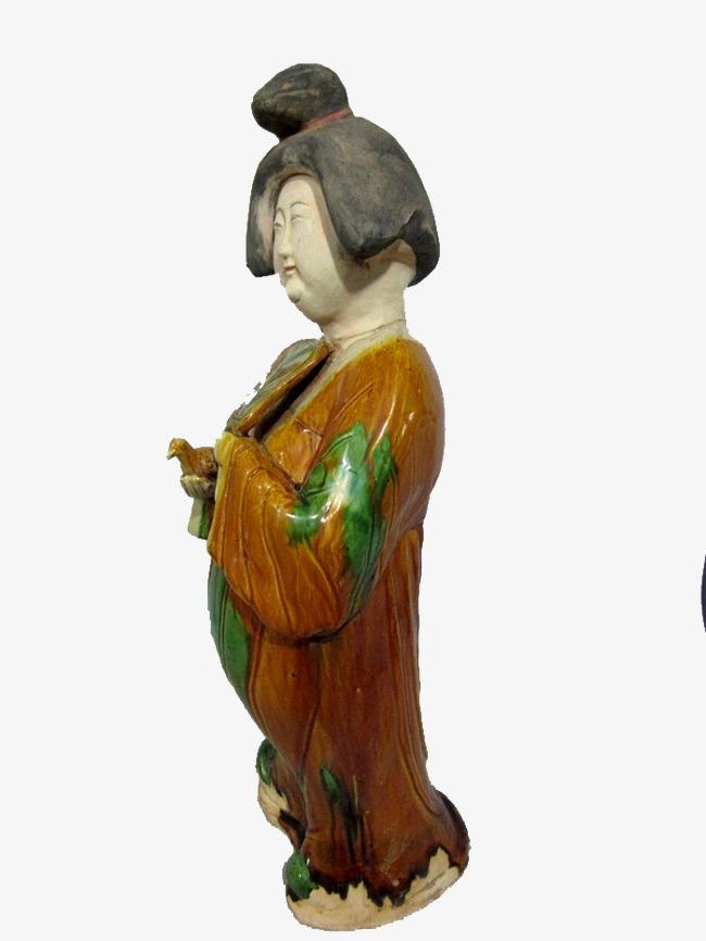 唐代女人雕塑