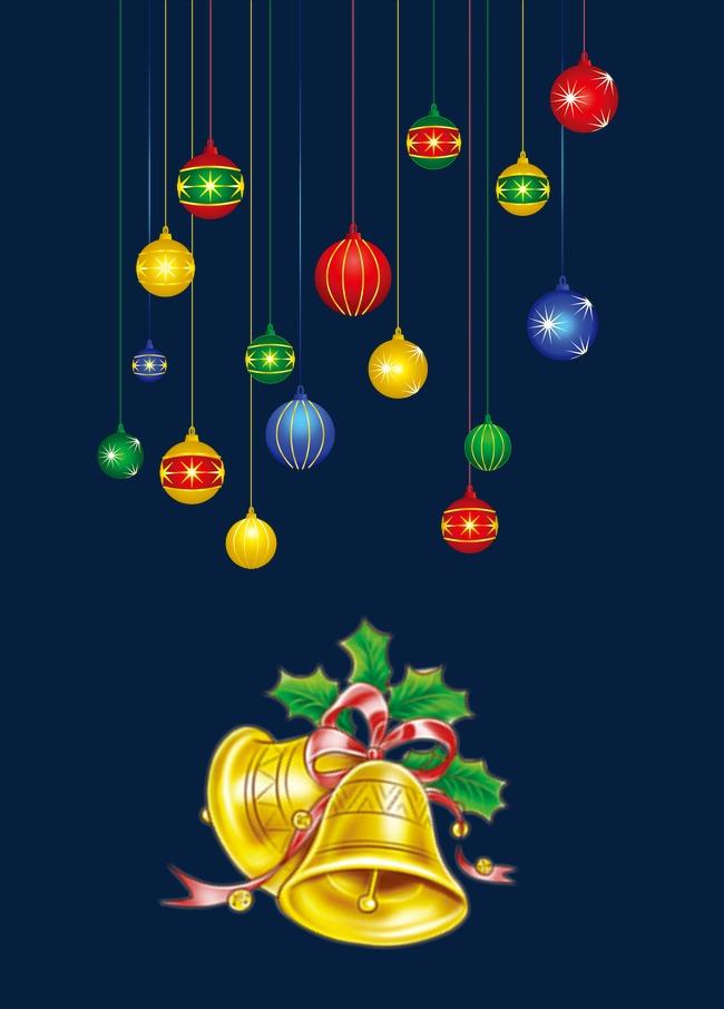 圣诞节饰品和铃铛
