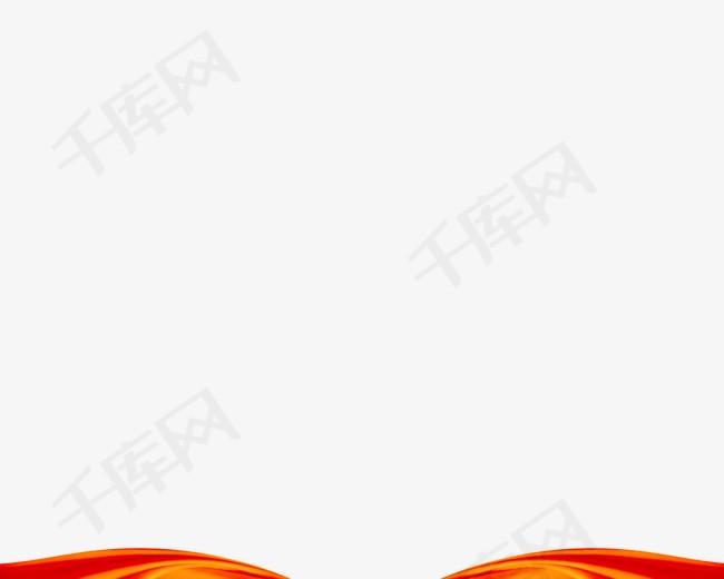 红色帷幕装饰