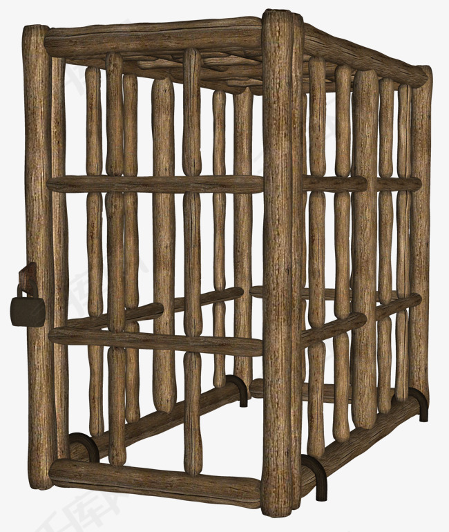 3D 木质牢笼