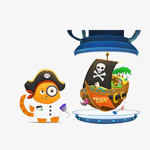 小猫海盗船