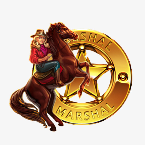 骑马的西部牛仔