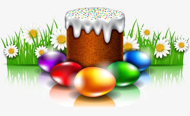 矢量手绘复活节彩蛋