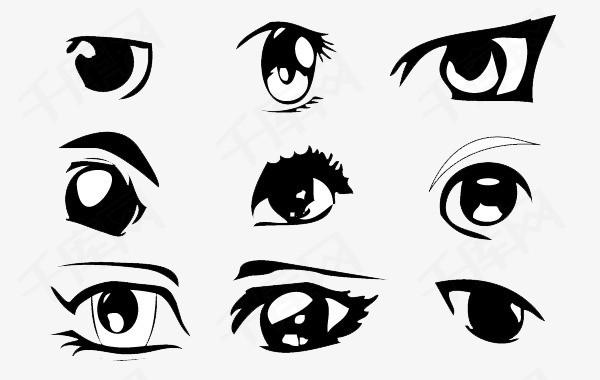 眼睛设计素材