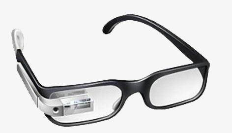 男士带蓝牙眼镜