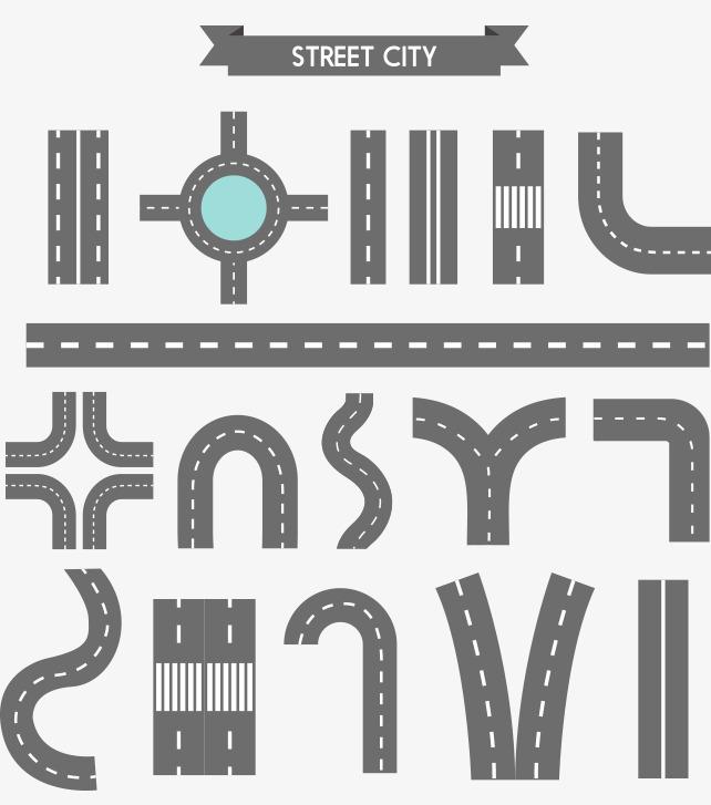 道路示意图