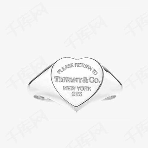 蒂芙尼心形图章戒指GRP05167
