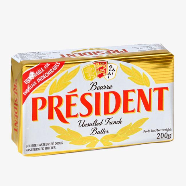 总统无盐黄油