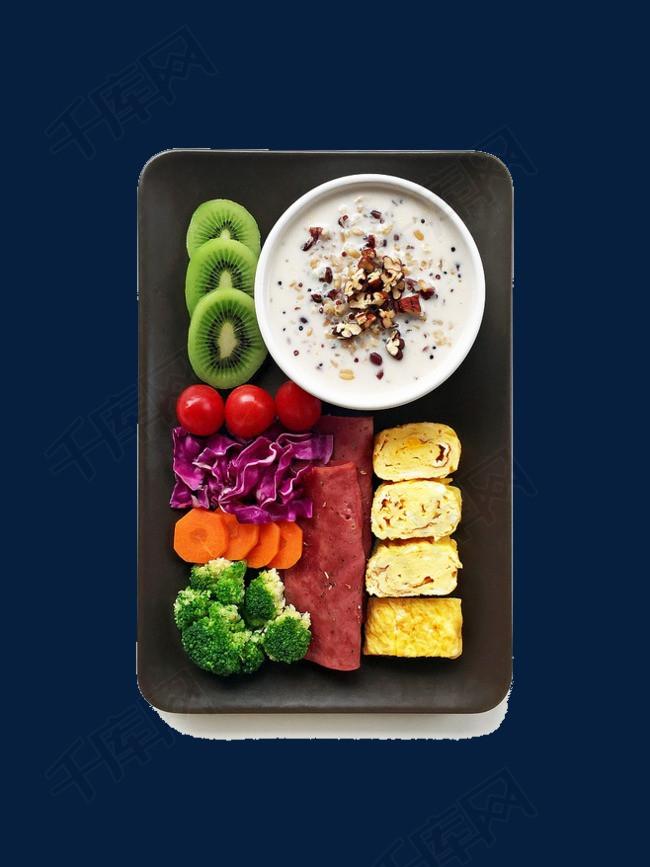 健康的健身餐
