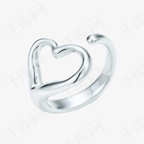 蒂芙尼心形戒指