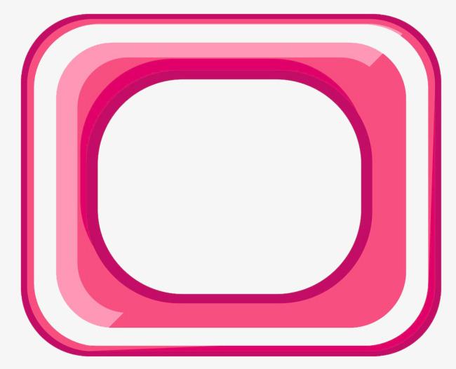 四边形边框png素材-90设计