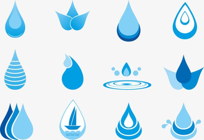 水滴图标素材图片免费下载 高清png 千库网 图片编号5349472