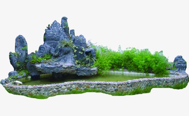 园林景观石png素材-90设计