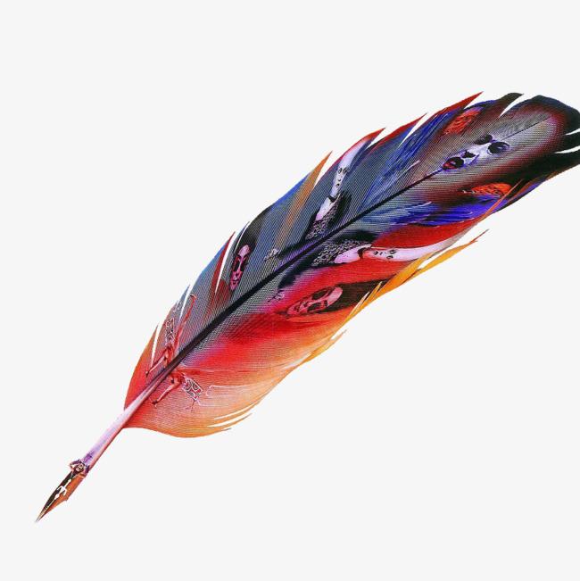 羽毛钢笔png素材-90设计图片