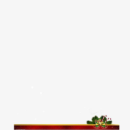 红底礼盒边框【高清png素材】-90设计