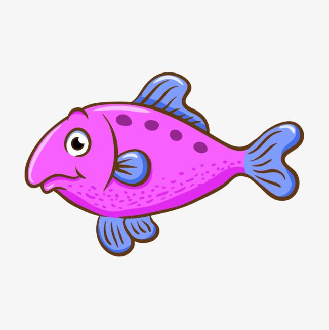800*800 90设计提供高清png手绘动漫素材免费下载,本次矢量粉色的鱼