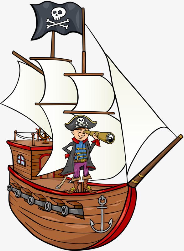 卡通手绘帆船素材图片免费下载 高清装饰图案png 千库网 图片编号图片