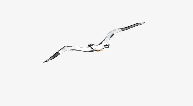 图片 > 【png】 海鸥手绘素材  分类:logo元素 类目:其他 格式:png